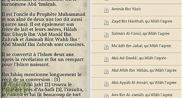 Les compagnons du prophete