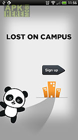 lost on campus