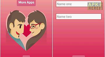 Love or friendship calculator