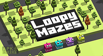 Loopy mazes: pac hopper man 256