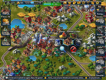 Steampower 1830: railroad tycoon for Android free download
