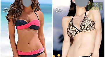 Bikini suit photo montage