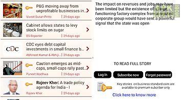Business standard news