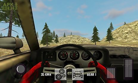 4x4 hill touring car