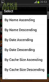 app cachecleaner