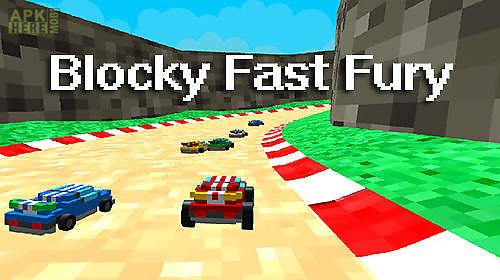 blocky fast fury