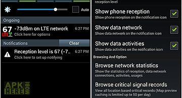 Phone signal notifier