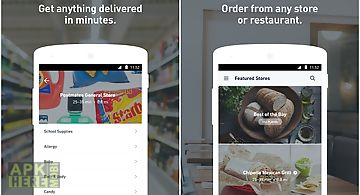 Postmates: food delivery, fast