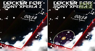 Locker for sony xperia z