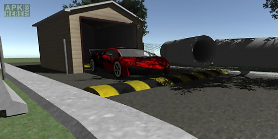 lux car parking 3d
