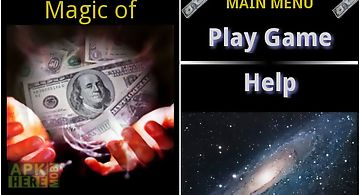Magic of money dream