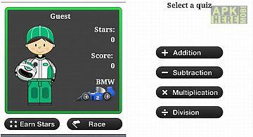 Math games - racing