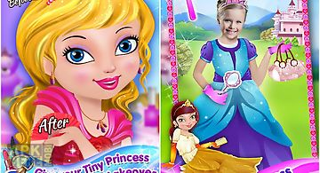 Tiny princess dressup & makeup