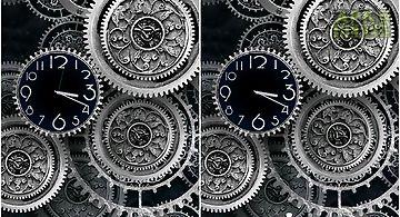 Black clock by mzemo Live Wallpa..