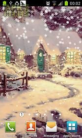 new year fantasywinter lwp live wallpaper