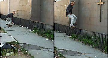 Skater smith grind  Live Wallpap..
