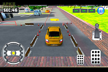 3d car parking game