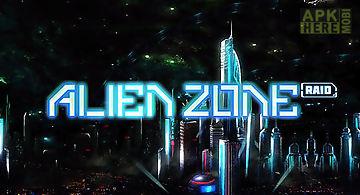 Alien zone raid
