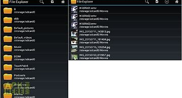 File explorer and manager