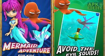 Mermaid adventure for kids