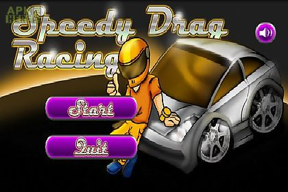 speedy drag racing gold