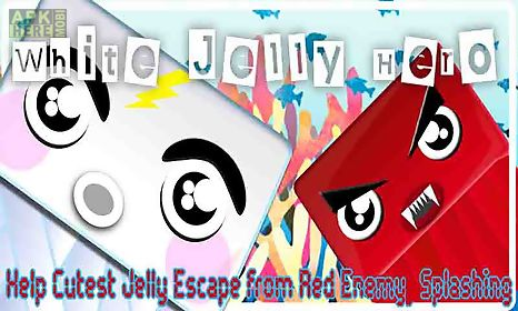 white jelly hero help cutest escape from red enemy