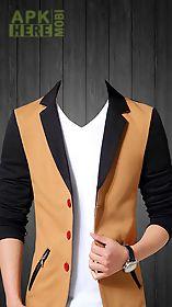man photo suit montage