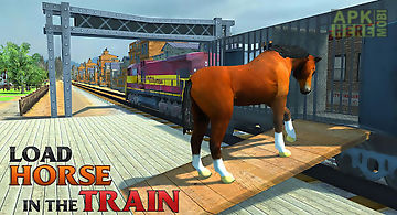 Train sim horse transporter