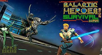 Galactic heroes 2018: survival w..