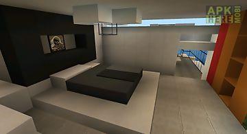 Modern mansion for minecraft