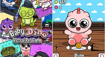 Baby dino 🐾 virtual pet game