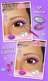 eye makeup - salon game