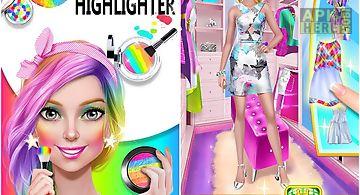 Makeup artist - rainbow salon