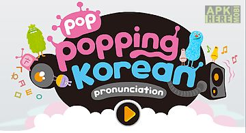 Poppopping korean
