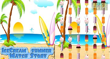 ice cream summer match story ga..