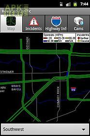 Houston traffic for Android free download at Apk Here store