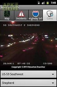 Houston Traffic For Android Free Download At Apk Here Store - Us web traffic map