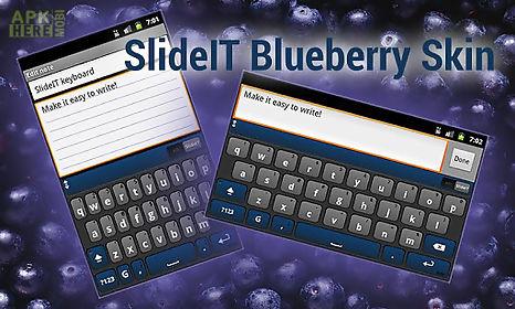 slideit blueberry skin