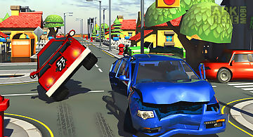 Toon city crossy road