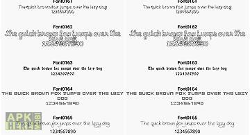 Fonts for flipfont 16
