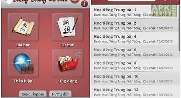 Hoc tieng trung quoc can ban