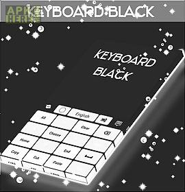 keyboard black and white