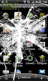 new cracked screen - screeny