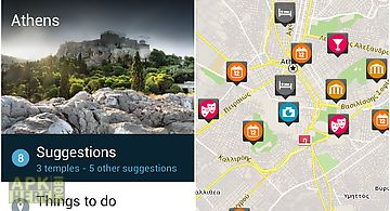 Athens travel guide by triposo
