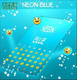 neon blue keyboard go