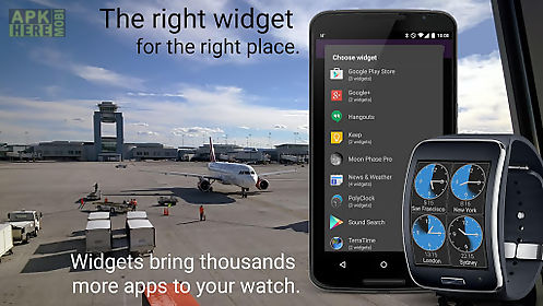 wearable widgets