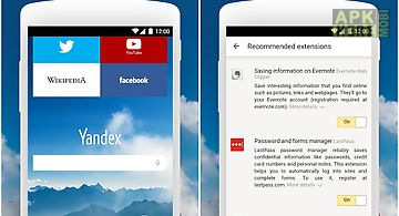 Yandex browser for android for Android free download at Apk