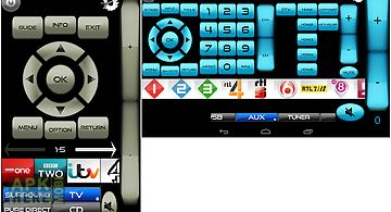 Remote for sony tv/bd wifi&ir