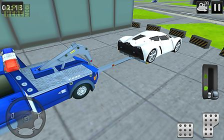 3d tow truck parking simulator