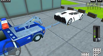 3d tow truck parking simulator